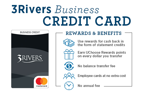 3Rivers Business Credit Card