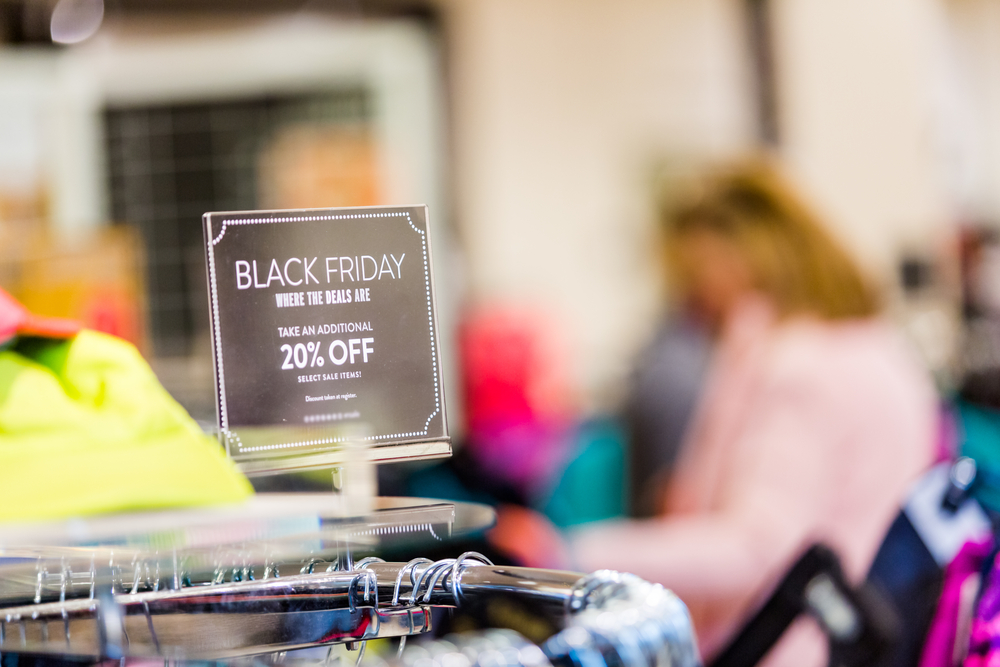 Black Friday + Cyber Monday Deals | Image source: Shutterstock.com / Photographer: Arina P Habich