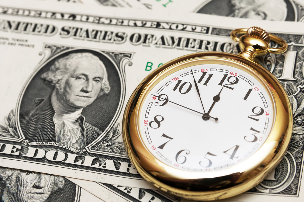 Improve Your Finances in Just ONE Hour | Image source: Shutterstock.com / Photographer: stanislave