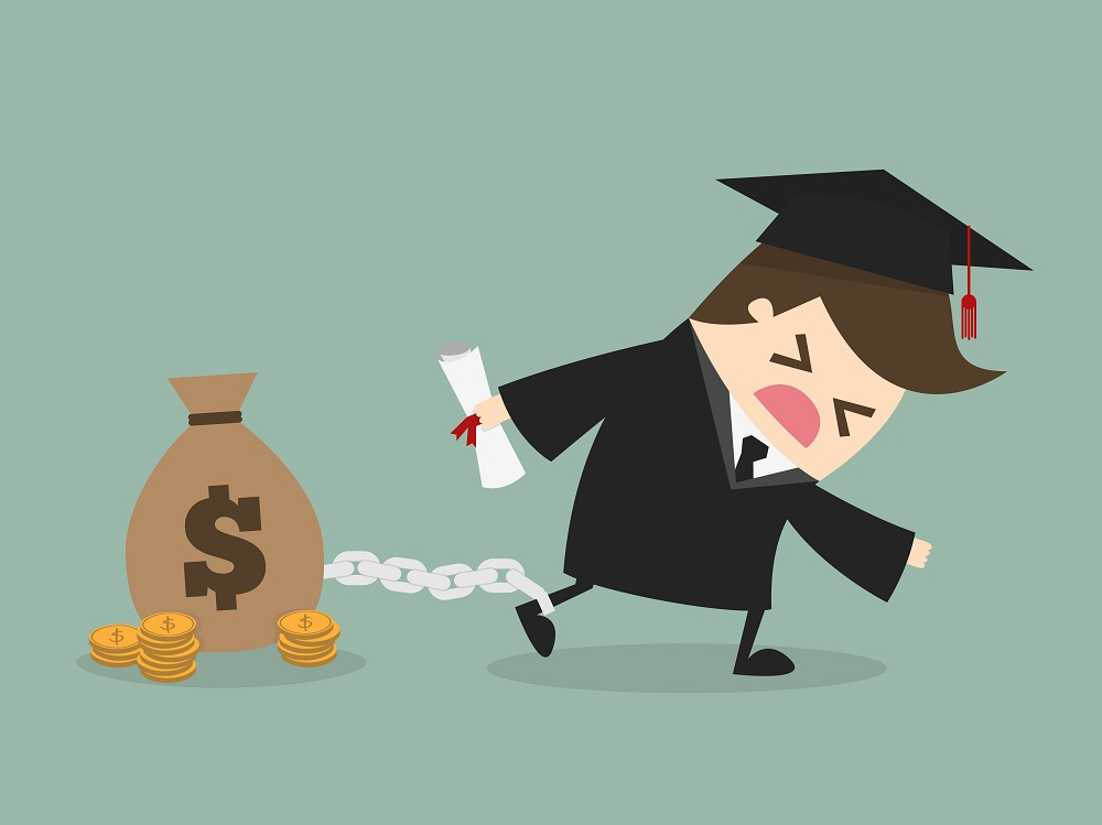 Student Loans: Your Hero or Villain? | Image source: Shutterstock.com / Artist: Dooder